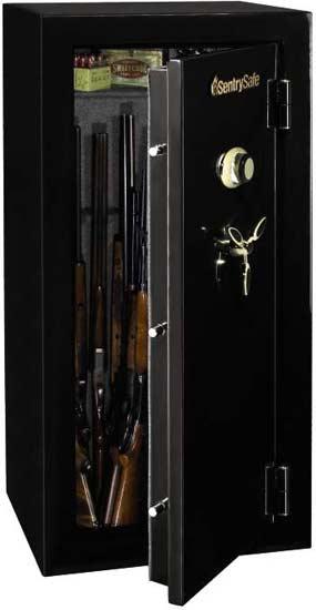 Amazon Sentrysafe Gm2459e Electronic Lock Fire Safe 24 Gun