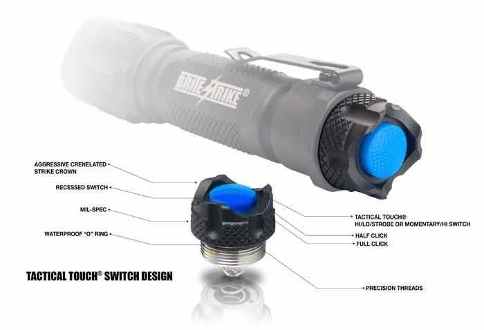 Amazon.com: Brite Strike BDRC-HLS Tactical Blue Dot Series 340 ...