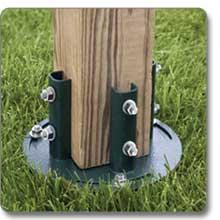 Liberty Hardware Vortex Mailbox Ground Anchor
