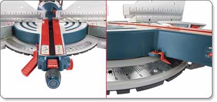 Bosch GCM12SD 120-Volt 12-Inch DB Glide Miter Saw Quick Setting