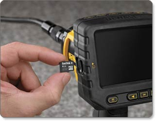 Amazon.com: DEWALT DCT410S1 12V MAX Inspection Camera Kit: Home ...