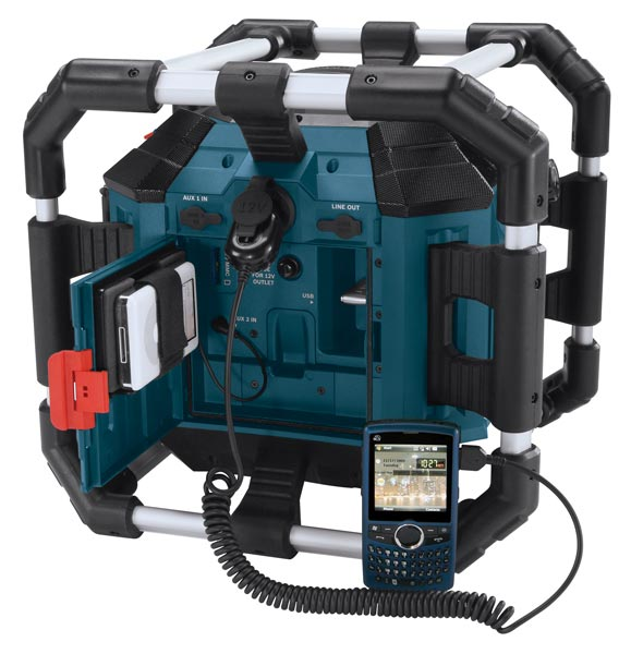 bosch pb360s 18 volt lithium ion power box jobsite radio and charger home improvement. Black Bedroom Furniture Sets. Home Design Ideas