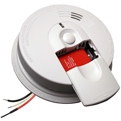 kidde firex hardwired smoke alarm i4618 smoke detectors. Black Bedroom Furniture Sets. Home Design Ideas