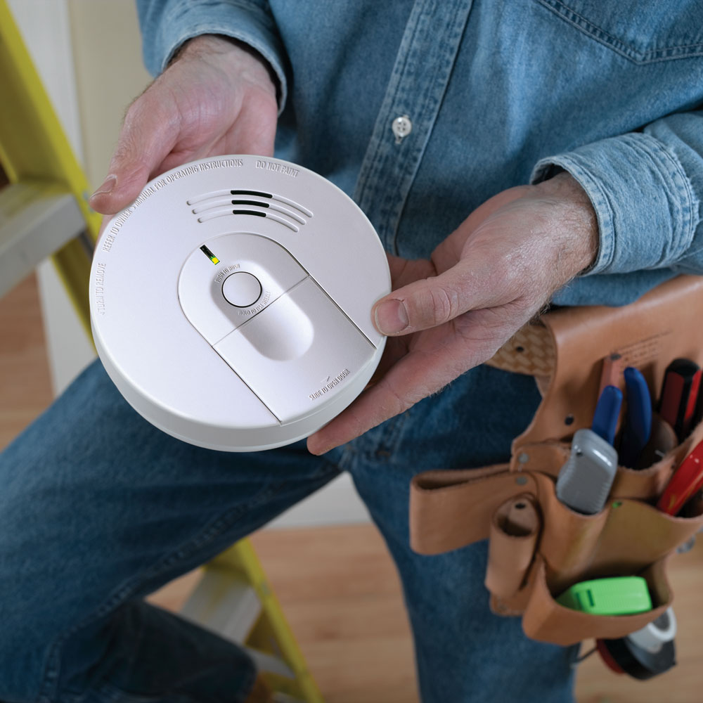 Kidde Firex Hardwired Smoke Alarm I4618 Detectors A Detector Electrical Wiring In Series Diagram The Offers Easy Installation Features View Larger