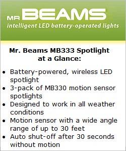 Mr Beams MB 333 Spotlight at a Glance