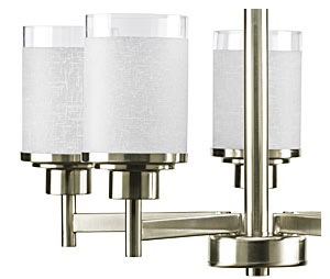 progress lighting alexa 4 light brushed nickel chandelier. and innovation for the home. manufacturer\u0027s product design team is in tune with wants needs of today\u0027s consumer - strives to develop progress lighting alexa 4 light brushed nickel chandelier c