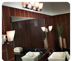 Progress Lighting P2807-15 3 Light Rizu Bathroom Light - Etched glass 22-1/2-Inch Width by 7-1/4-Inch Height Uses (3) 100-Watt medium base bulbs (not included) - bathroom-lights, bathroom-fixtures-hardware, bathroom - B004K5EZZW.P01 -