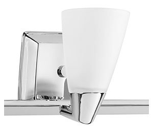 Progress Lighting P2807-15 3 Light Rizu Bathroom Light - Etched glass 22-1/2-Inch Width by 7-1/4-Inch Height Uses (3) 100-Watt medium base bulbs (not included) - bathroom-lights, bathroom-fixtures-hardware, bathroom - B004K5EZZW.P02 -