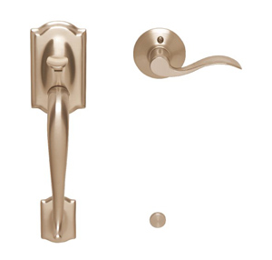 Camelot Left Handed Interior Front Entry Accent Lever