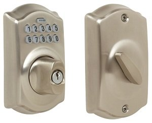 Amazon.com. Schlage Camelot Keypad Deadbolt