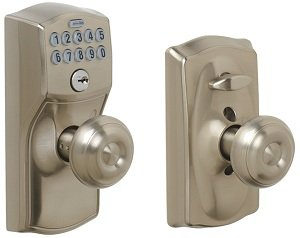 Schlage Fe595 Cam 619 Geo Camelot Keypad Entry With Flex