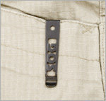 Reversible pocket clip