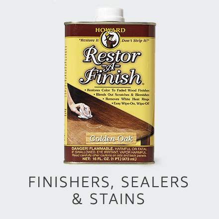 Finishers, Sealers & Stains