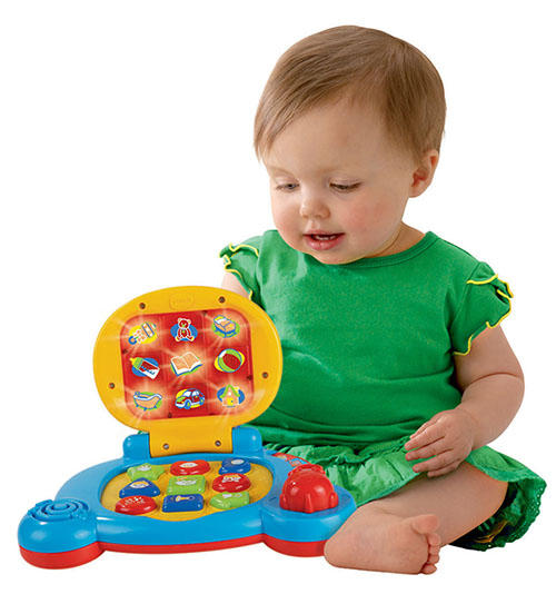 Amazon.com: VTech Baby's Learning Laptop, Blue: Toys & Games