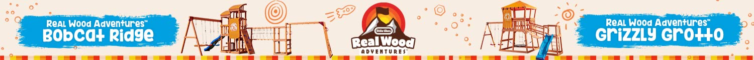 Little Tikes Real Wood Adventures Here