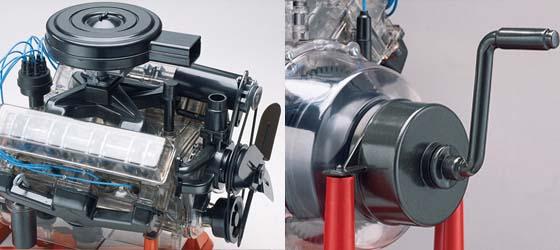 amazon com revell 85 8883 1 4 visible v 8 engine plastic model kit rh amazon com 1 8 Scale Plastic Model Engines 1 8 Scale Plastic Model Engines