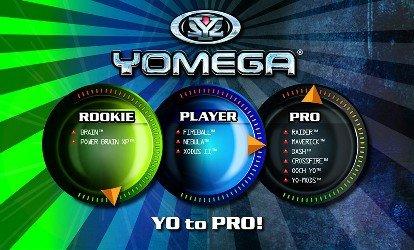 Yomega's Yo to Pro Dial System