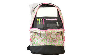 Wildkin Sidekick backpack includes interior pockets helps keep you organized!