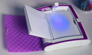 Journal and Glow Light