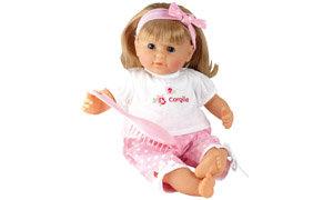 Vanilla-scented baby doll