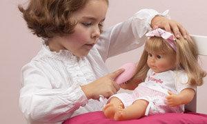 Hair play baby doll
