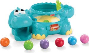 Dino and balls