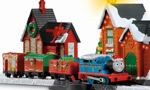 Thomas The Train Trackmaster Thomas8217 Christmas Delivery