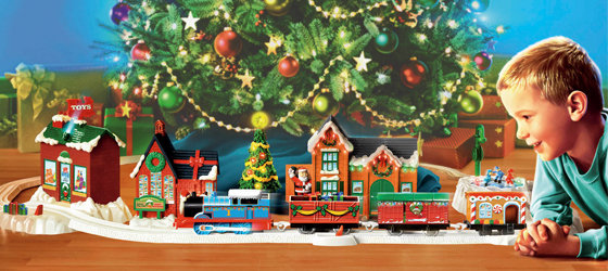 train set - Train For Around Christmas Tree