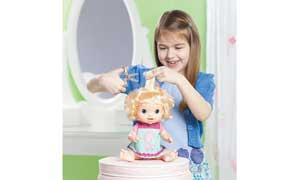 Amazon Com Hasbro Blonde Baby Doll Toys Games