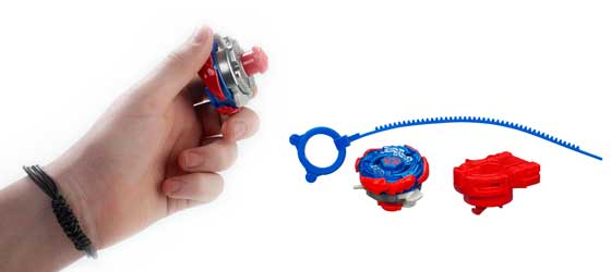 Detailed image of BEYBLADE METAL MASTERS EXTREME TOP SYSTEM STEALTH BATTLERS