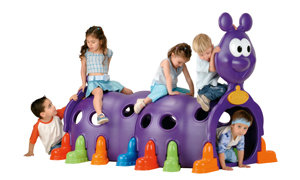 Kids on Caterpillar