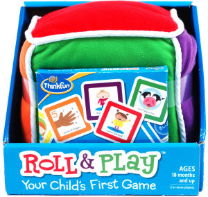 Beginning Language Roll & Learn Pocket Cubes Board Game ...