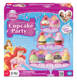 Disney Princess Enchanted Cupcake Party Game