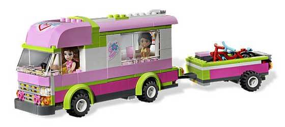 Amazon Com Lego Friends 3184 Adventure Camper Toys Amp Games