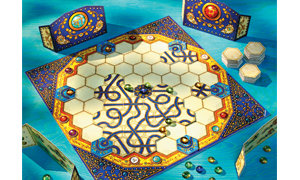 Compete to gather the most precious gems by building intricate pathways!