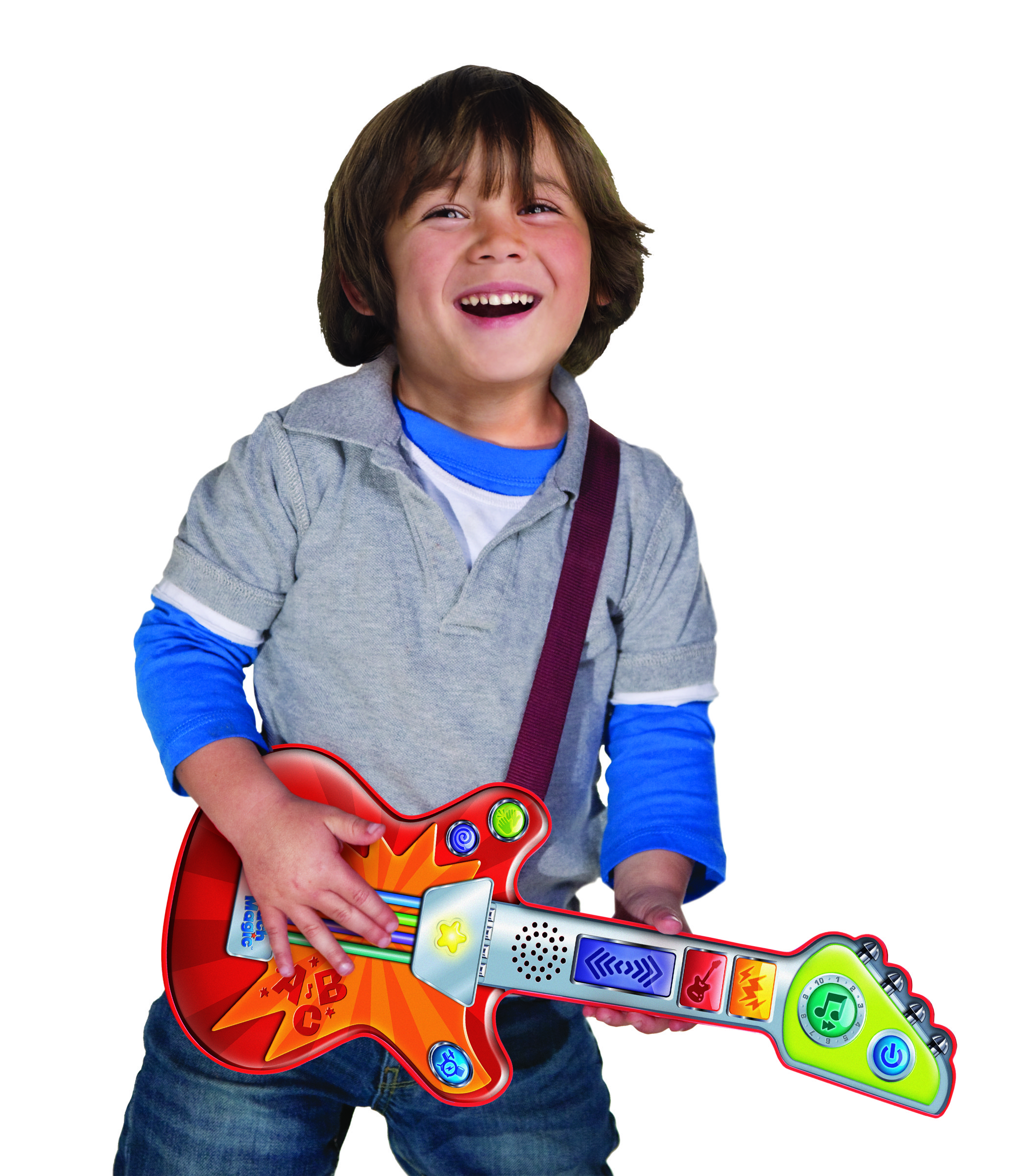 Amazon Com Leapfrog Touch Magic Rockin Guitar Toys Amp Games