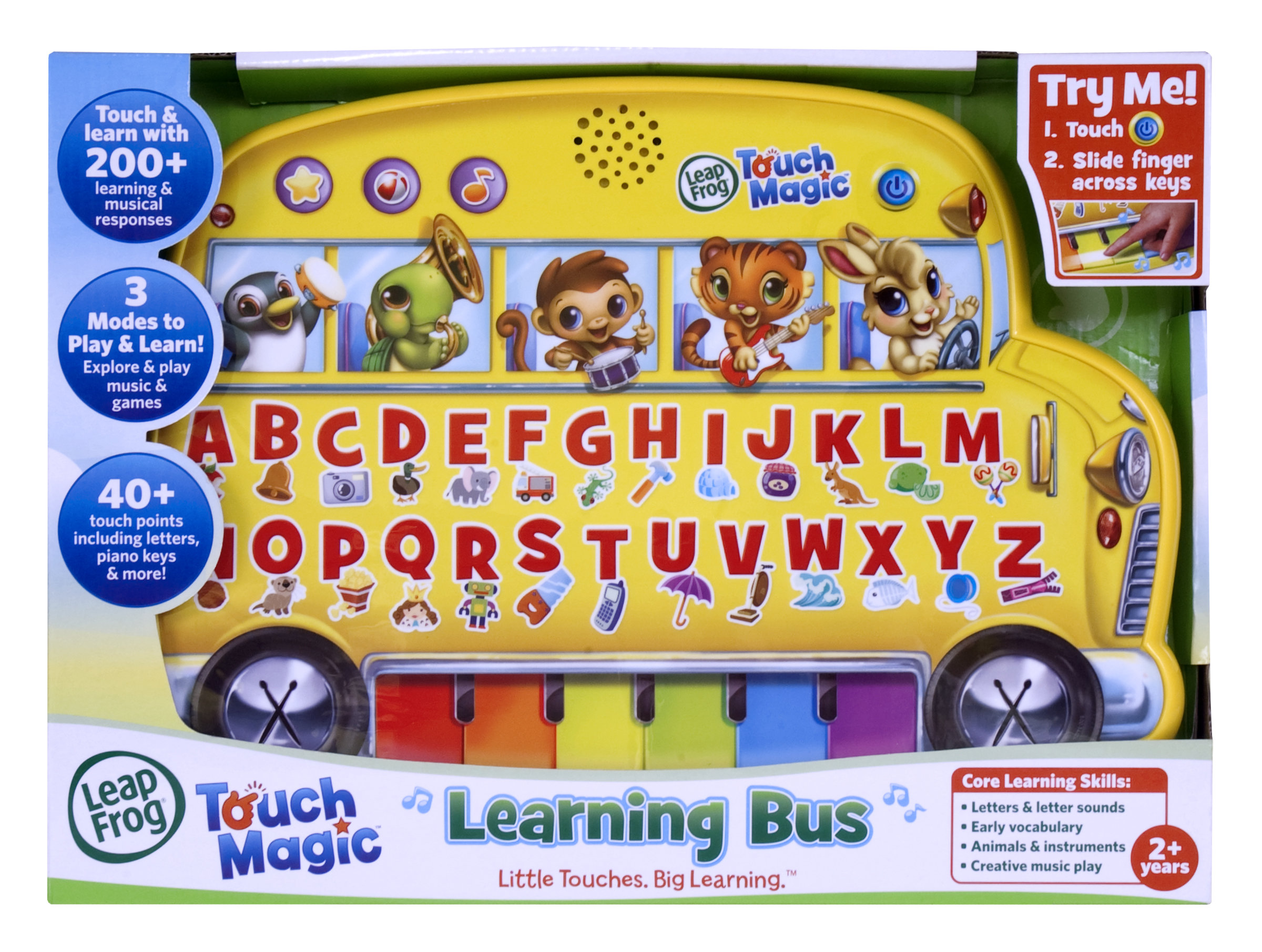 Amazon LeapFrog Touch Magic Learning Bus Toys & Games