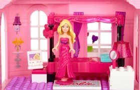 Amazon.com: Mega Bloks Barbie Luxury Mansion: Toys & Games