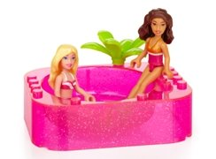 Barbie and Nikki relaxing in the hot tub