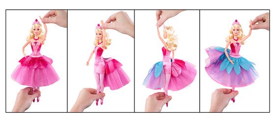 Amazon Barbie In The Pink Shoes Transforming