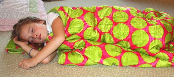 Wildkin's coziest sleeping bag!