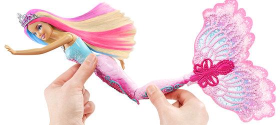 Amazon Com Barbie Color Magic Mermaid Doll Toys Amp Games