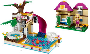 Amazoncom Lego Friends Heartlake City Pool 41008 Toys Games