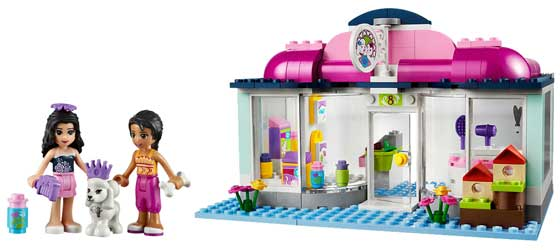 Lego friends heartlake pet salon 41007 toys for A perfect pet salon