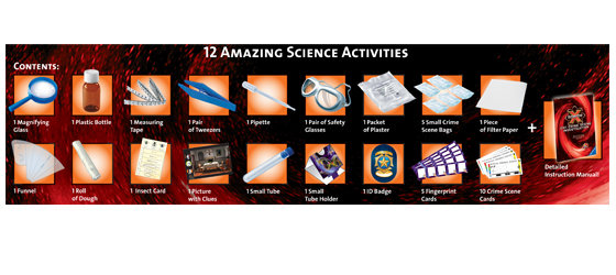 contents for 12 amazing activities included contents of science x csi. Resume Example. Resume CV Cover Letter