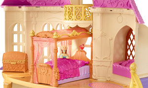 Amazon.com: Disney Sofia The First Royal Bed Playset: Toys & Games