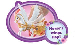 Horse's wings flap