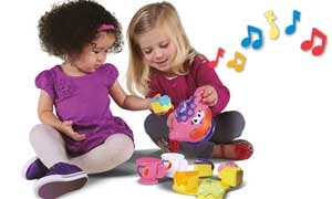 Host a special tea time for two to learn lessons in sharing.