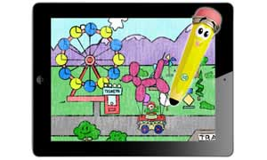Leapfrog learn to write with mr pencil stylus writing app