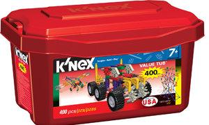 K'NEX 400 piece Value Tub